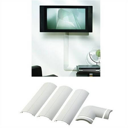 Image of Omnimount Full Size CMK Wall-Mounted Cable Management System, White