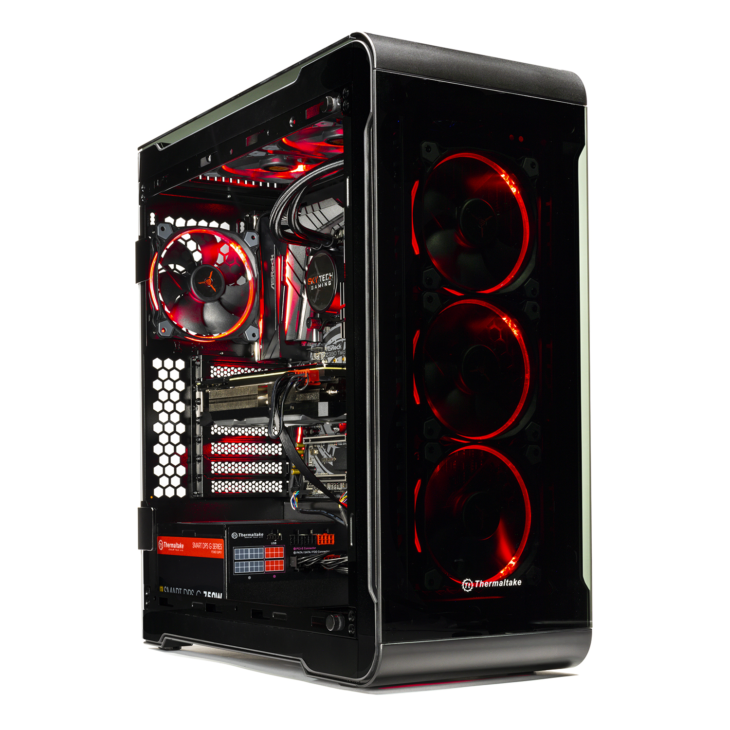 SkyTech Legacy Extreme – VR/4K Ready Gaming PC - i9-9900K, RTX 2080 Ti 11GB, 1TB NVME, 360mm Liquid Cool, 16GB DDR4, Window 10 Home