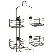 Better Homes & Gardens Expandable Hose Shower Caddy, Oil-Rubbed Bronze
