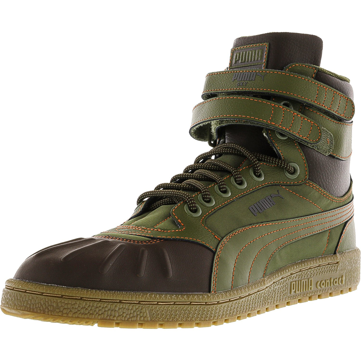 2769b65f177 PUMA - Puma Men s Sky Ii Hi Duck Boot Black Ankle-High Leather Fashion  Sneaker - 11M - Walmart.com