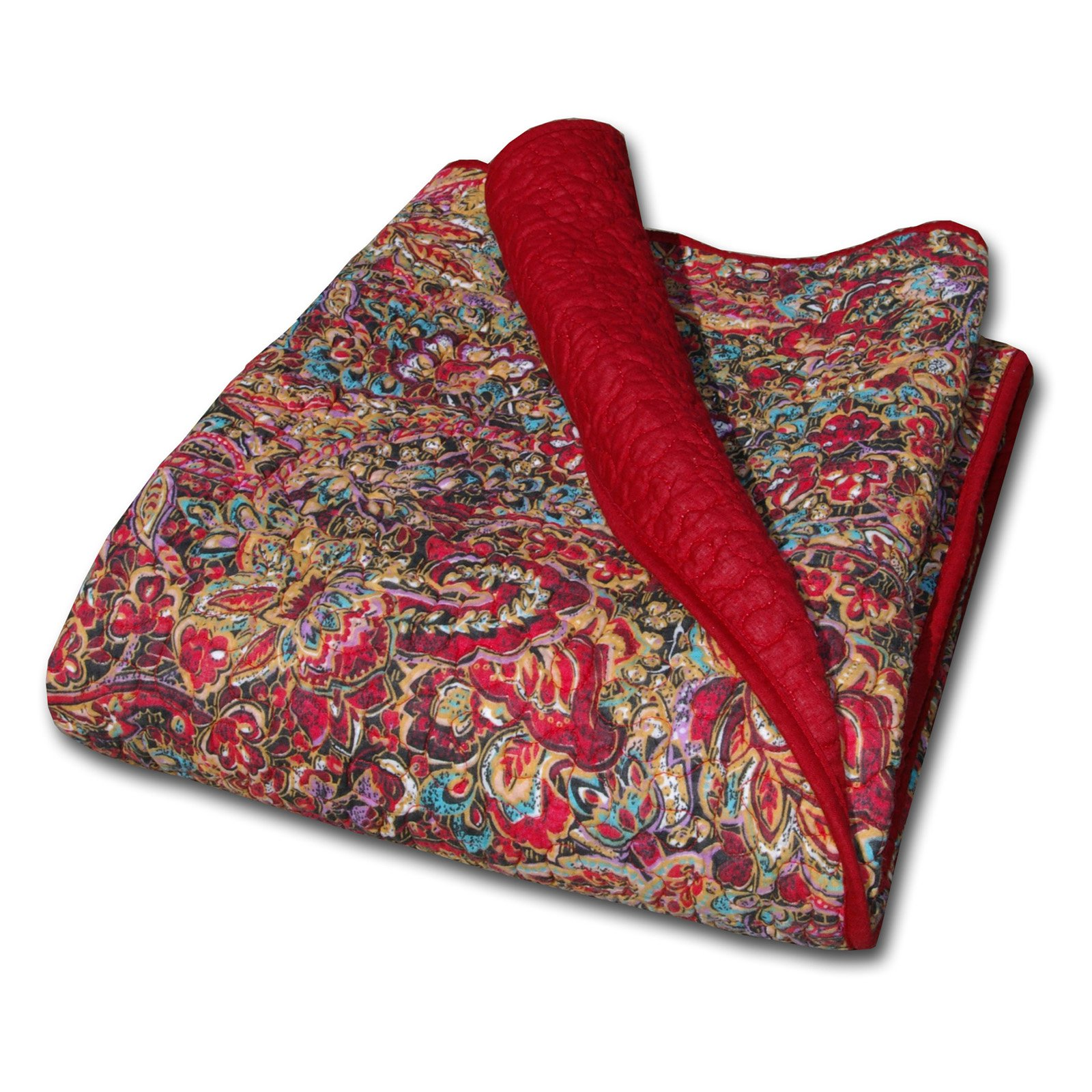 Greenland Home Persian Quilted Cotton Throw