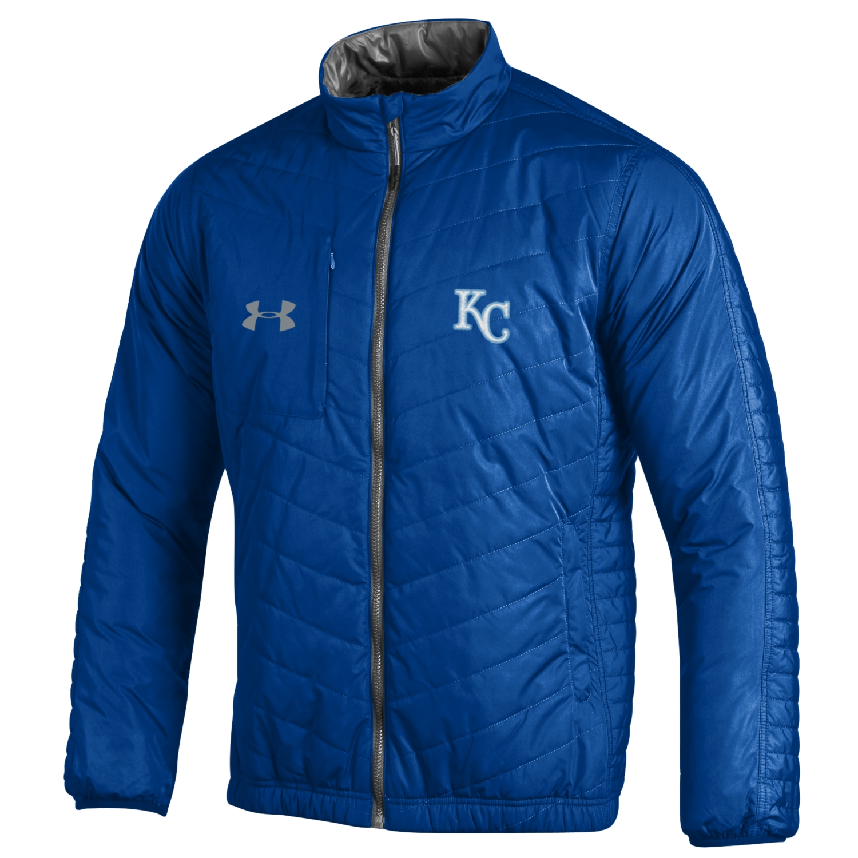 Kansas City Royals Under Armour Accelerate Full-Zip Performance Jacket - Royal