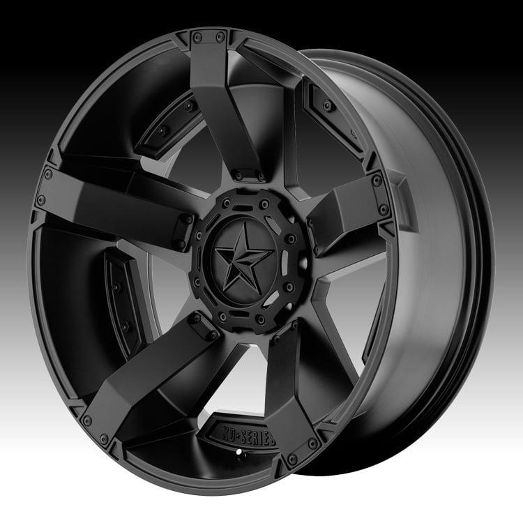 KMC XD XD811 RS2 Rockstar II Satin Black 22x9.5 6x135 / 6...