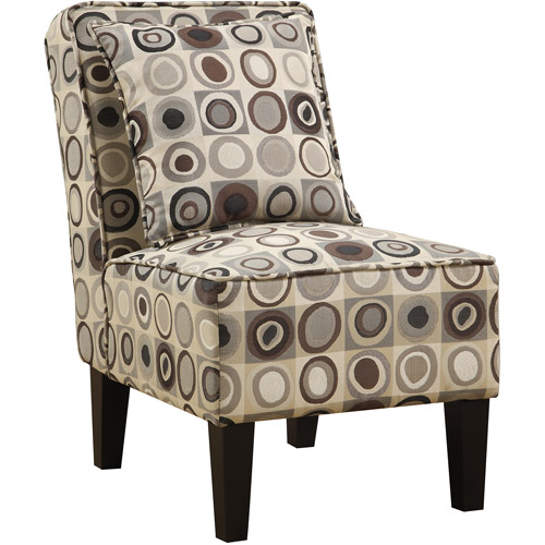 Incroyable Handy Living Dani Armless Accent Chair, Set Of 2, Geometric Circles