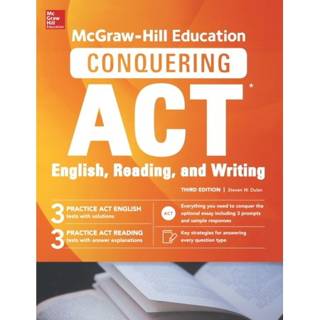 McGraw-Hill Education Conquering ACT English Reading and Writing, Third