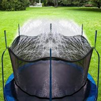 Bobor Trampoline Sprinklers for Kids, Outdoor Trampoline Spary Park Fun Summer Water Toys.(39ft)