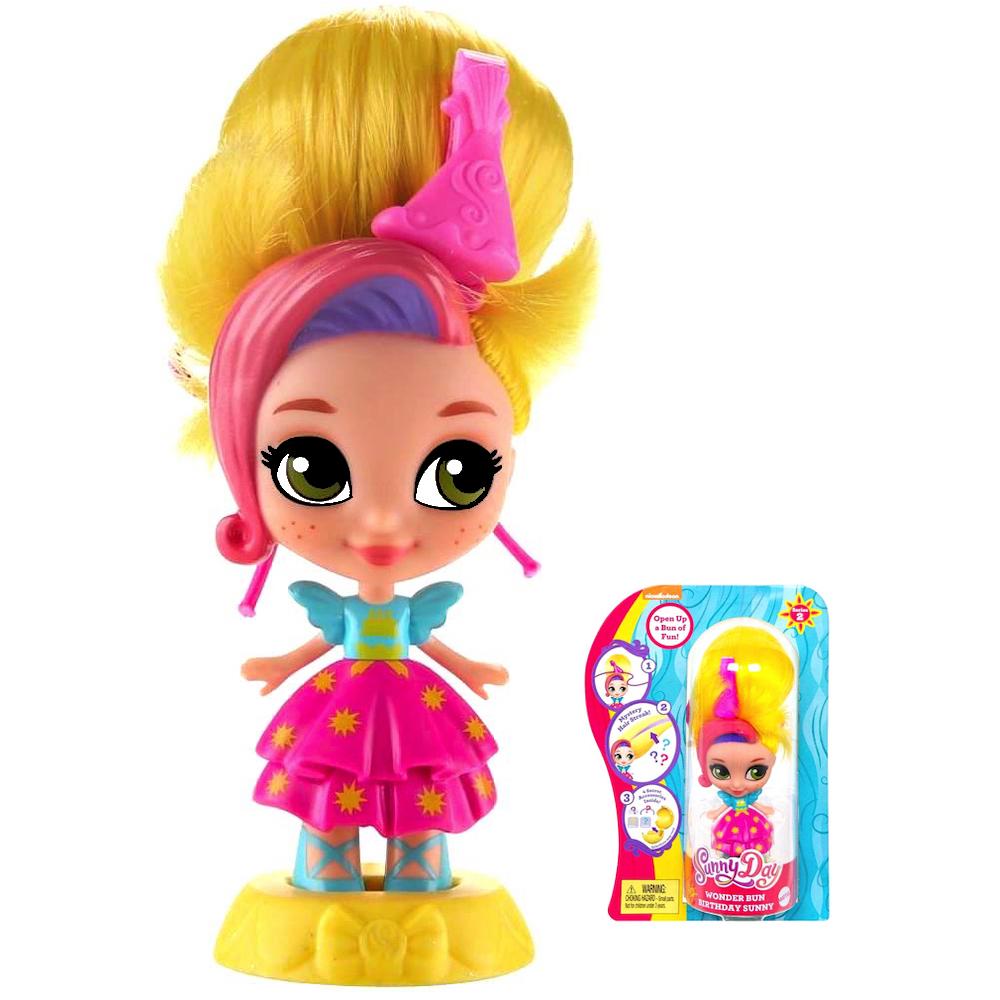 """Birthday Sunny Sunny Day Wonder Bun Doll 3.5"""""""