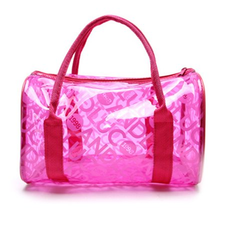 Pvc Fashion Bag - KABOER Fashion Women Summer Transparent PVC Clear Beach Candy Waterproof Handbag Pillow Bag