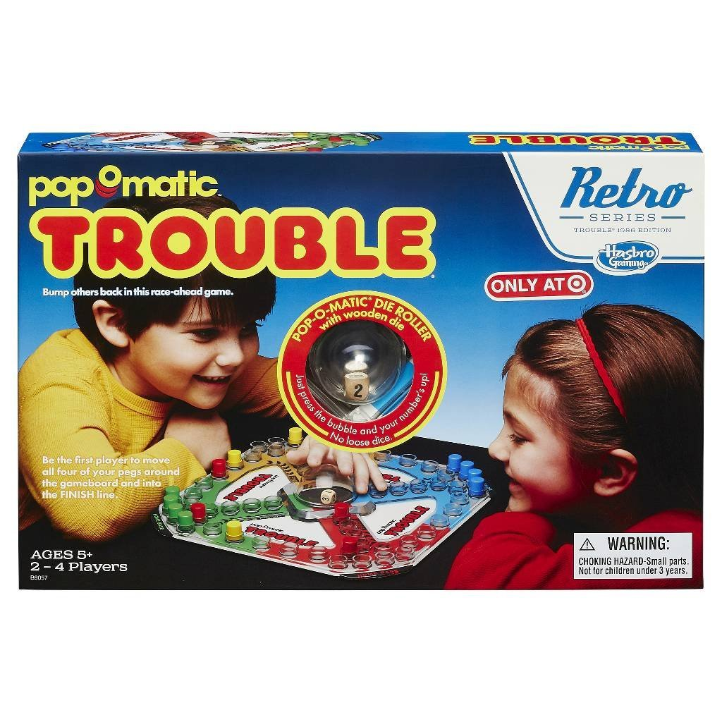 Trouble Game: Retro Series 1986 Edition, By Hasbro by