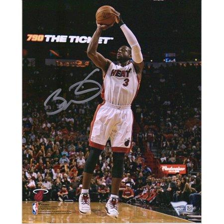 Dwyane Wade Miami Heat Autographed 8