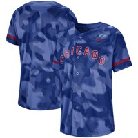Chicago Cubs Nike Camo Jersey - Royal