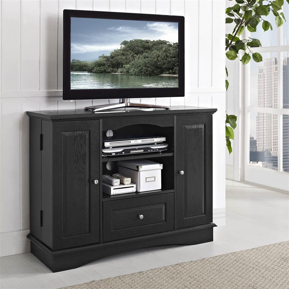 42 in. W Bedroom TV Console w Media Storage - Walmart.com