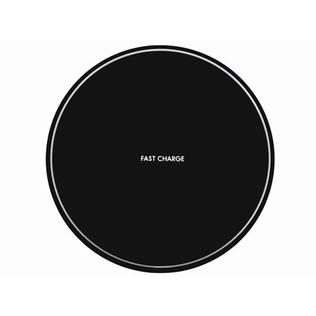 Fast Wireless Charger, QI Wireless Charging Pad for  iPhone 8/8 Plus, iPhone X, Samsung Note 8, S8/S8 Plus/S7/S7 Edge/S6, Nexus 7/6/5/4(2013), Nokia Lumia 920, LG Optimus Vu2, Wireless