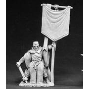 Reaper Miniatures Templar Standard #02390 Dark Heaven Legends Unpainted Metal