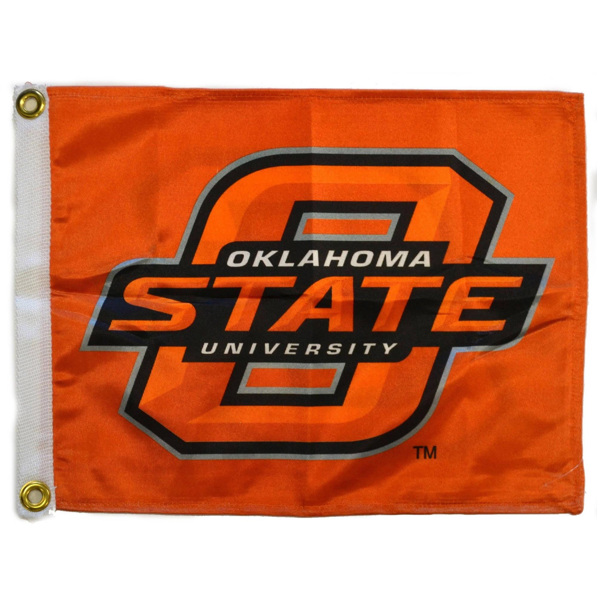 "Flagpole To Go 14"" x 15"" Oklahoma State Cowboys Golf Cart Flag"