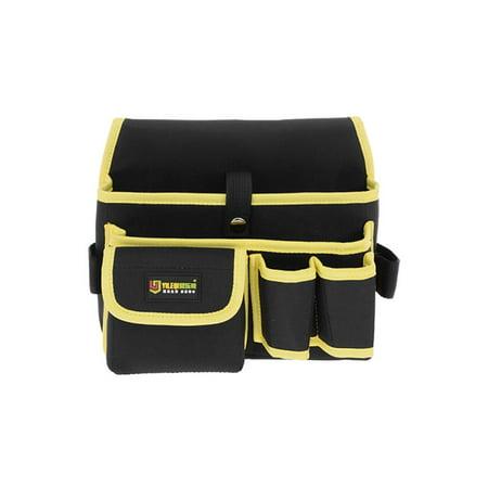 Professional Canvas 14 Tool Pockets, Fully Adjustable Waterproof Work Belt - image 3 of 4