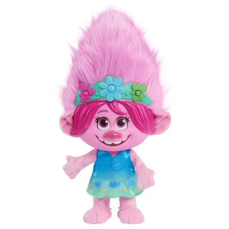 Trolls World Tour Color Poppin' Poppy Plush Fashion Doll