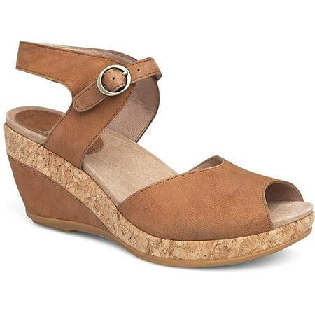 d0ca1465b43 Dansko Womens Charlotte Open Toe Casual Ankle Strap Sandals