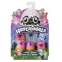 Hatchimals CollEGGtibles, 4 Pack + Bonus, Season 4 Hatchimals CollEGGtible, for Ages 5 and Up (Styles and Colors May Vary)