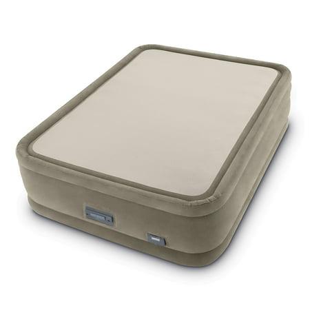 Intex Queen 20u0022 PremAire ThermaLux Airbed Mattress with Digital Built-in Comfort Pump