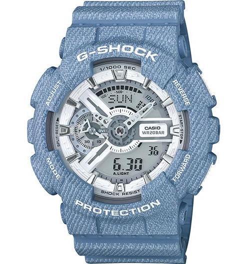 Casio G-Shock White Dial Resin Quartz Men's Watch GA110DC...