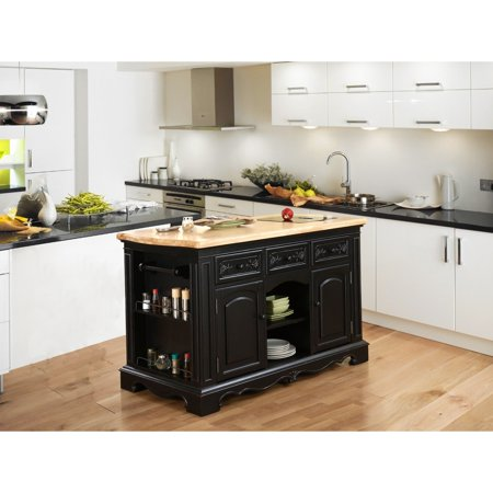 Powell Raeford Kitchen Island Walmartcom - Kitchen islands at walmart