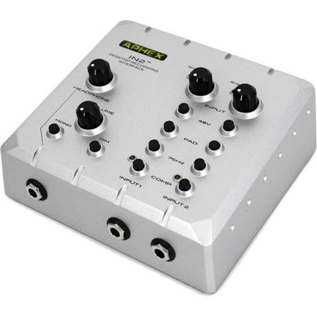 Aphex IN 2 Microphone Preamp (12ay7 Tube Microphone Preamp)