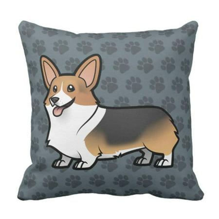 BPBOP Cute Cartoon Design Your Pet Dog Pillowcase Cover 16x16
