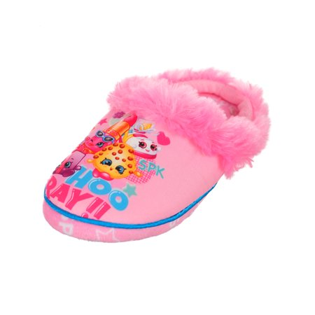 Shopkins Girls' Slippers (Sizes 11 - 3) - Girls Christmas Slippers