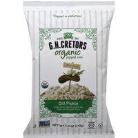 Gh Cretors Organic Dill Pickle Popped Corn, 4 oz, (Pack of 12)