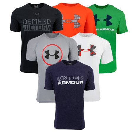 - Under Armour Men's Mystery T-Shirt 3-Pack