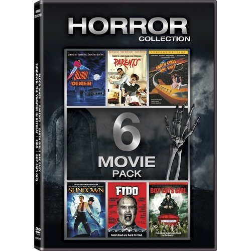 Horror Collection: 6-Movie Pack - Blood Diner / Parents / Earth Girls Are Easy / Sundown / Fido / Boy Eats Girl (Widescreen)