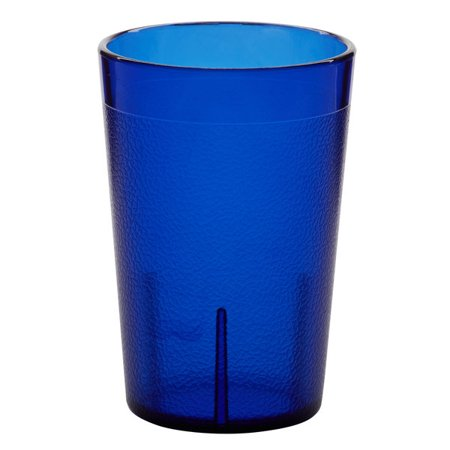 Carlisle 552647 8 Oz Royal Blue San Plastic Stackable Tumbler 72 Case Walmart Canada