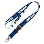 Dallas Cowboys Breakaway Lanyard - Navy Blue/White