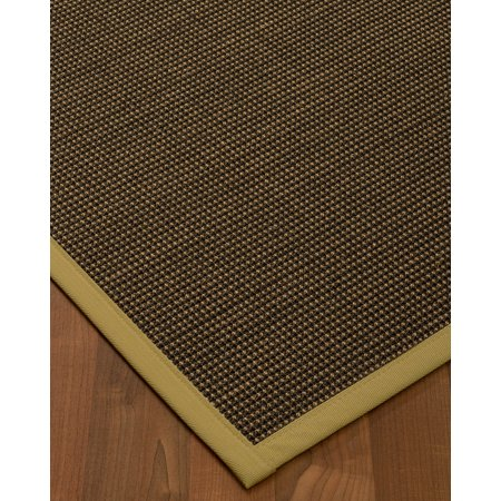 Naturalarearugs Cau Sisal Area Rug 6 Feet By 9 Sage Border