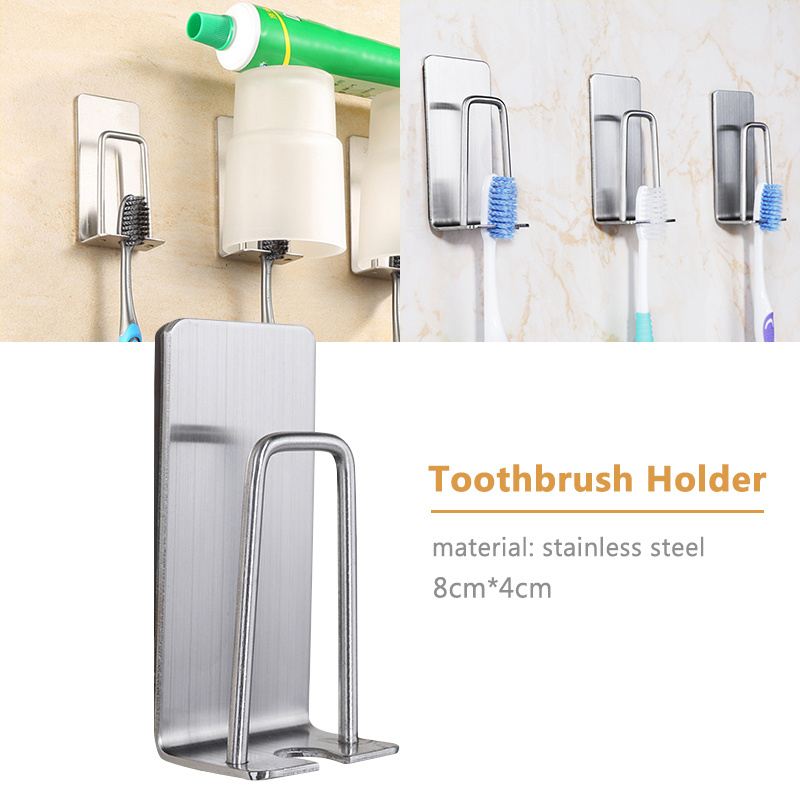 3Pcs//set Toothbrush Suction Holder Rack Cover Wall Mount Stand Home Healthy Part