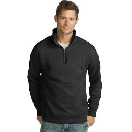 Hanes Men's Nano Premium Lightweight Quarter Zip Jacket -