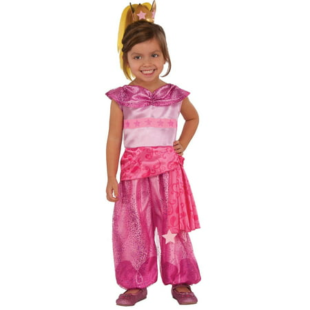 Summer Halloween Costume (Shimmer And Shine Toddler Deluxe Leah Costume)