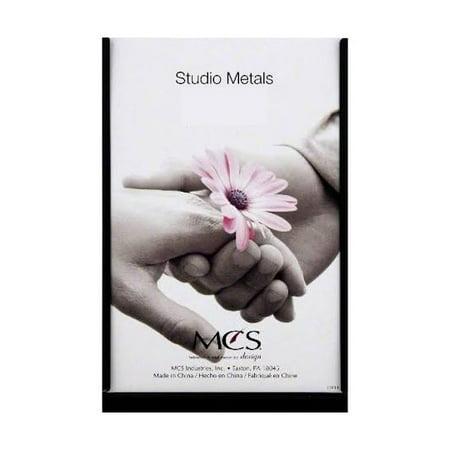 MCS 5x7 Black Studio Metal Picture Frame - Single Vertical