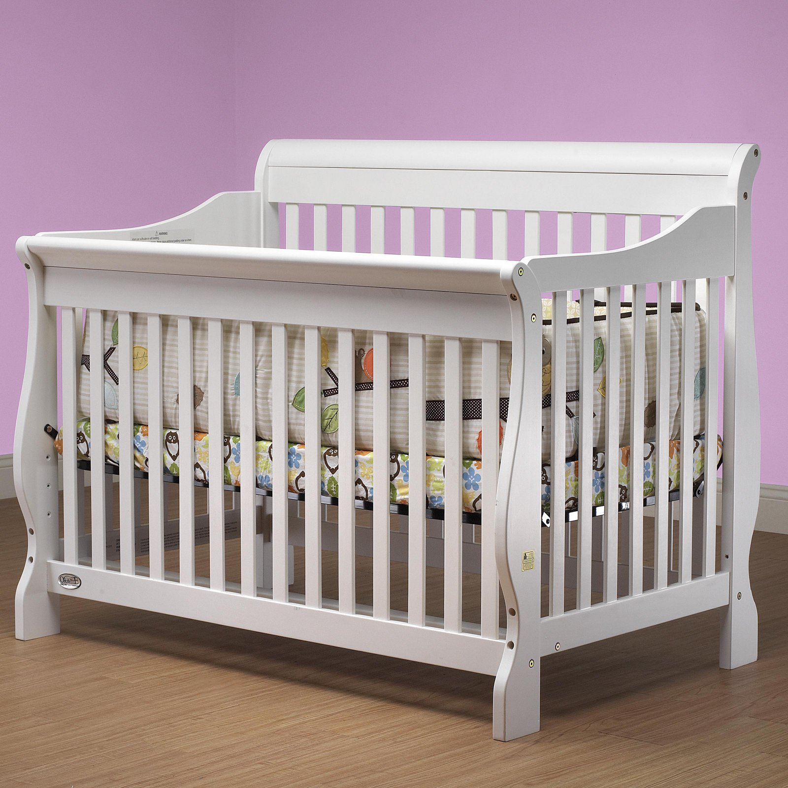 Orbelle Lifestyle 4-in-1 Sleigh Crib