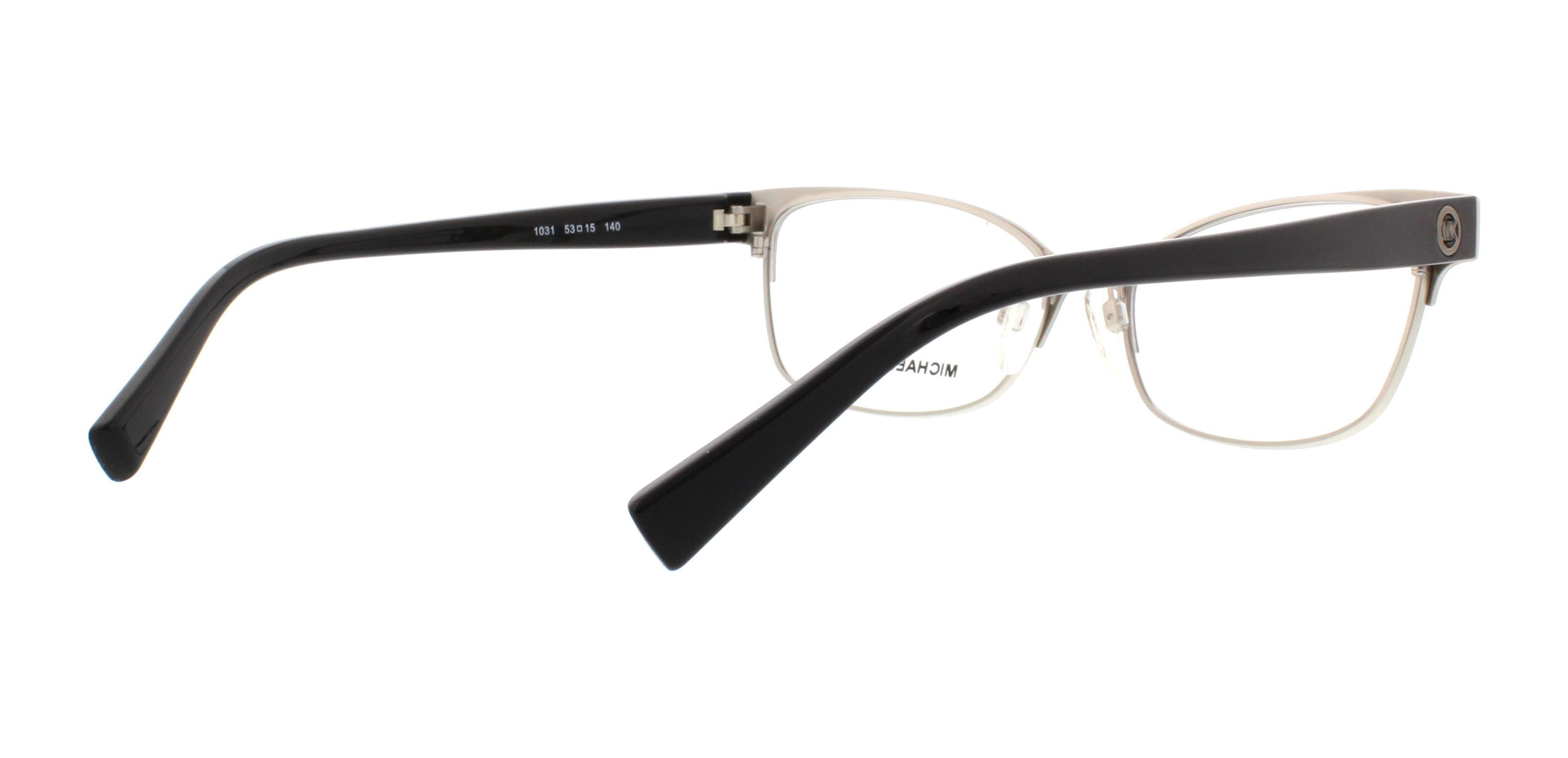 b02ac73d4d6d MICHAEL KORS Eyeglasses MK7004 PALOS VERDES 1030 Light Gun/Rose Gold 53MM -  Walmart.com