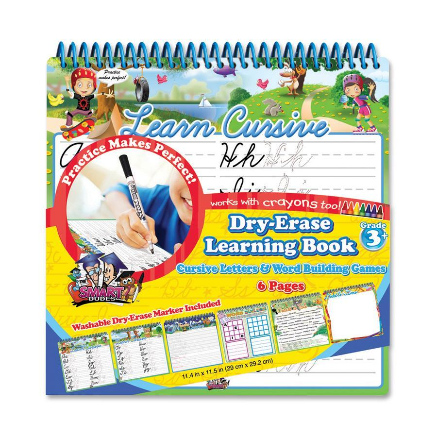 Dry-Erase Learning Book