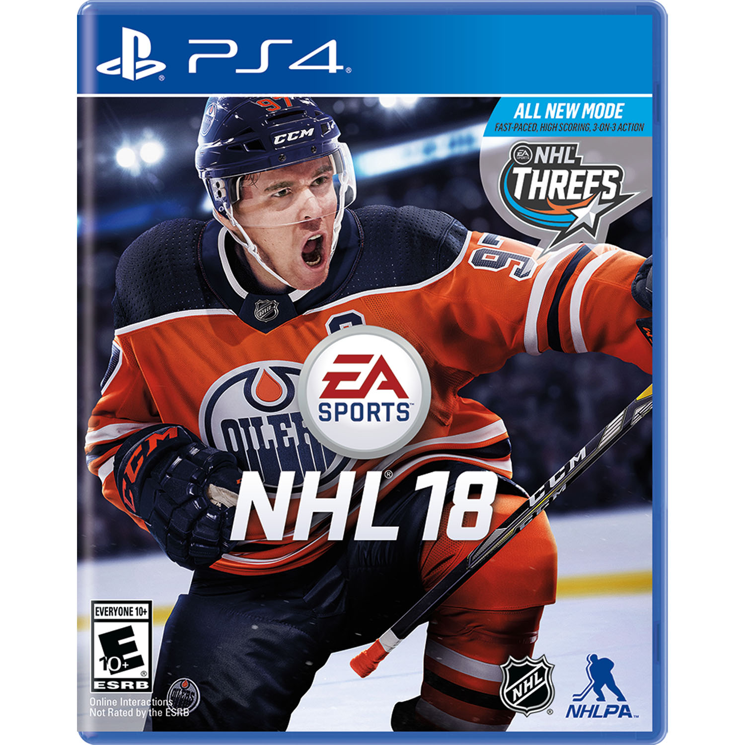 NHL 18, Electronic Arts, PlayStation 4, REFURBISHED/PREOWNED
