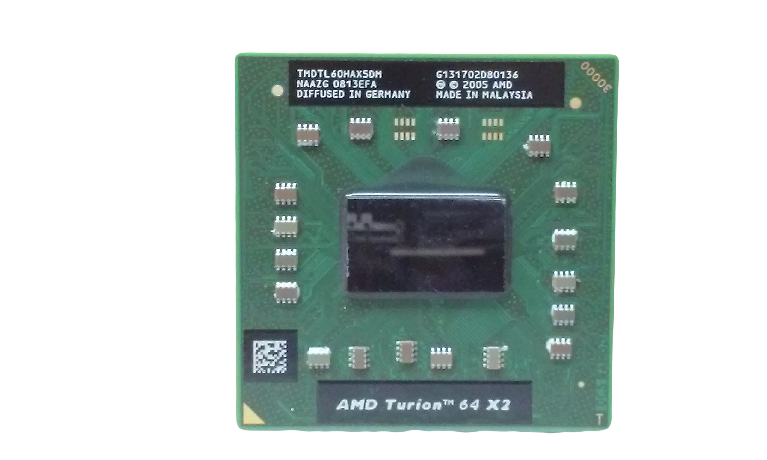 USED AMD TMDTL60HAX5DM  TURION 64 X2 MOBILE  TL-60 TESTED AND WORKING