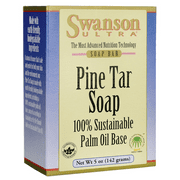 Swanson Pine Tar Soap 5 oz (142 grams) Bar(S)