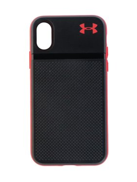 73d6bf1d7bdc Product Image Under Armour UA Protect Stash Protective Case Cover for  iPhone X 10 - Black Red