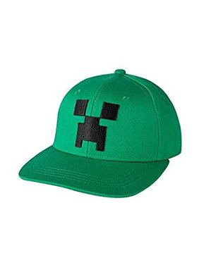 67ffcf59d82 Product Image Baseball Cap - Minecraft - Creeper Face Green Snap-Back j3840