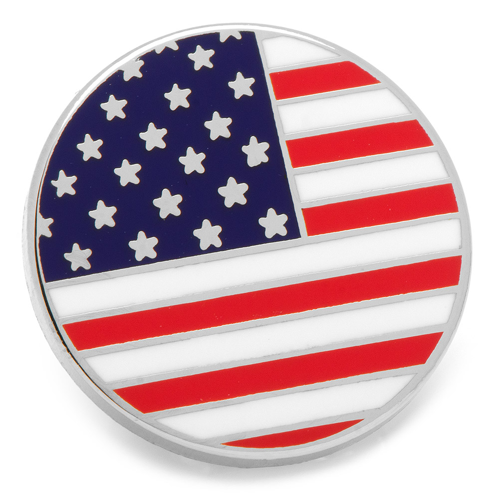 Cufflinks Inc Stars Stripes Lapel Pin