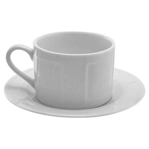 TenStrawberryStreet Sorrento Can Cup and Saucer (Set of 6)