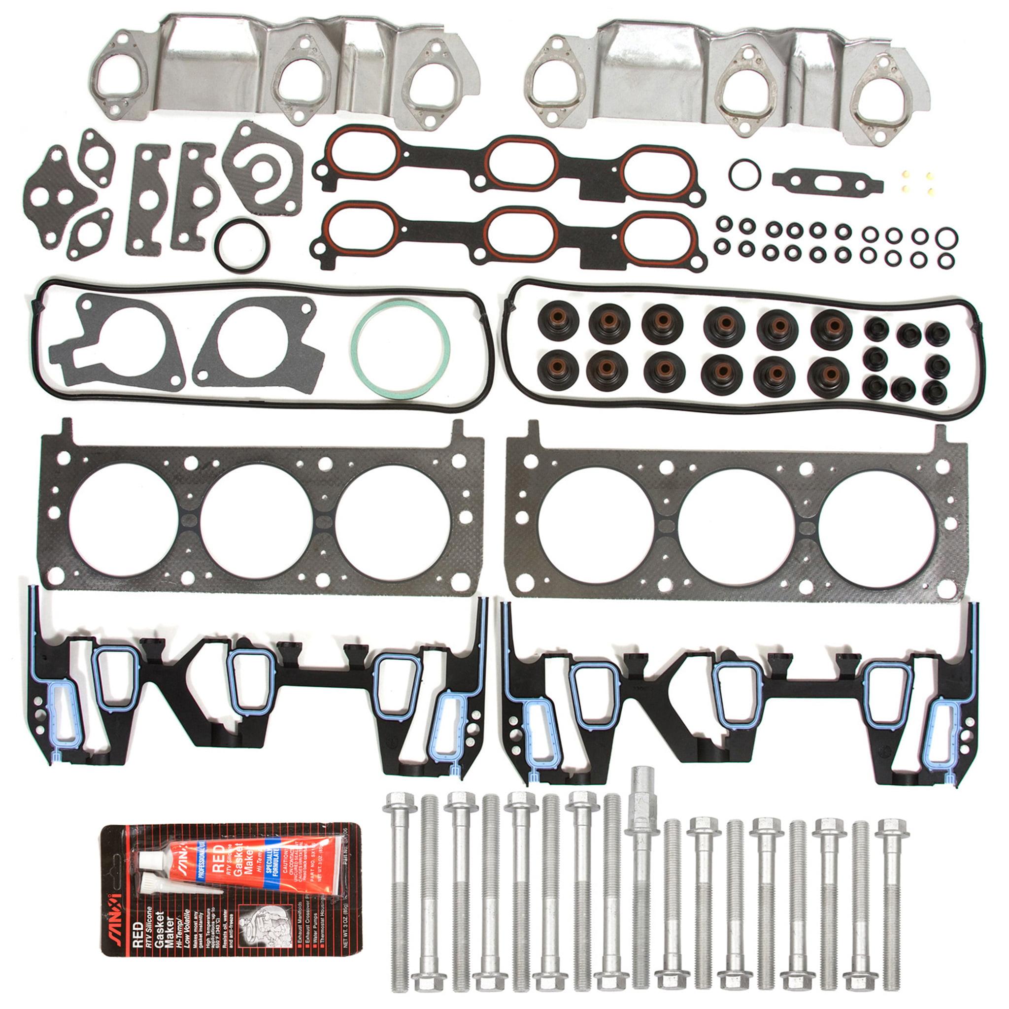 Engine Head Gasket Set Graphite for Buick Chevy Pontiac Oldsmobile V6 3.1L